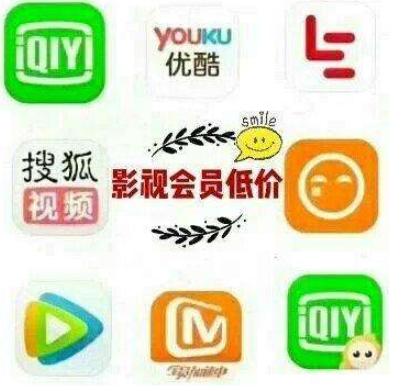 爱奇艺腾讯搜狐优酷等专属会员(长期招代理)