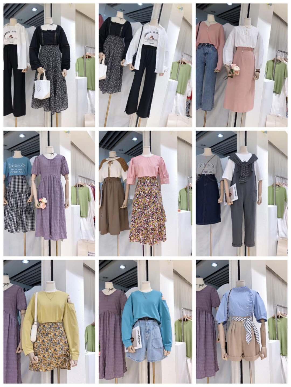时尚潮流外贸韩版服装代理无需囤货一件代发